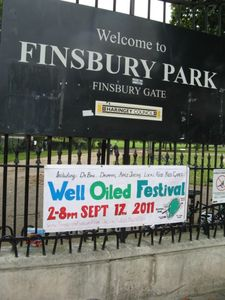 Well Oiled Festival banner