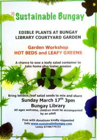 Hot Beds & leafy Greens poster