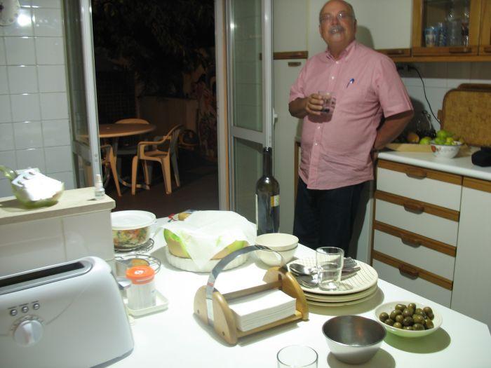 Rui in his kitchen