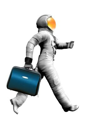 astronaut in the new economy
