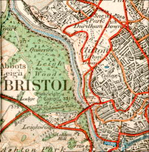 old bristol map picture