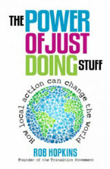 book cover: the power of just doing stuff