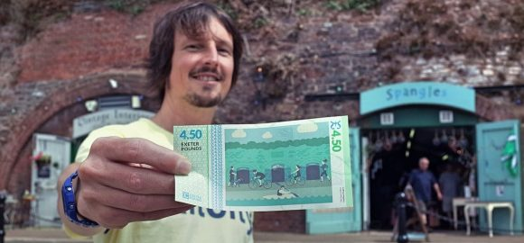 Exeter Pound launch a £4.50 note.  But why?