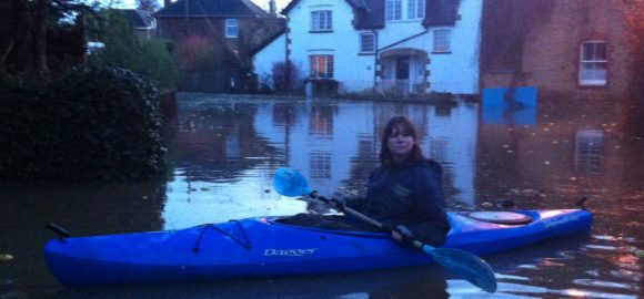 From the Archive: Cara Naden reflects on being flooded in Somerset.