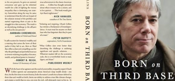 Book Review and Competition: 'Born on Third Base' by Chuck Collins.