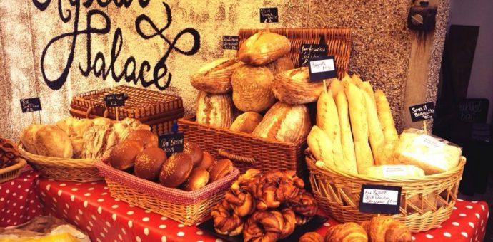 Crystal Palace Food Market, London, UK.