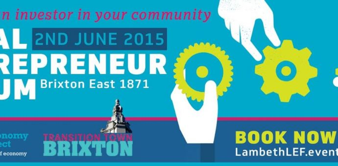 Lambeth Local Entrepreneur Forum, London, England.