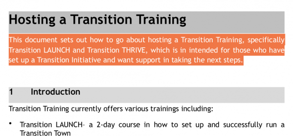 Host a Training