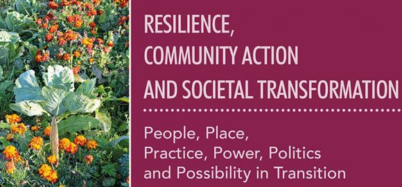 Tom Henfrey unveils 'Resilience, Community Action and Societal Transformation'
