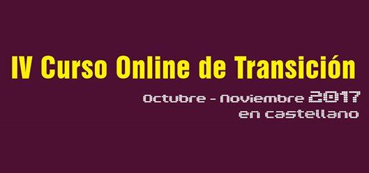 Curso online de Transición en castellano