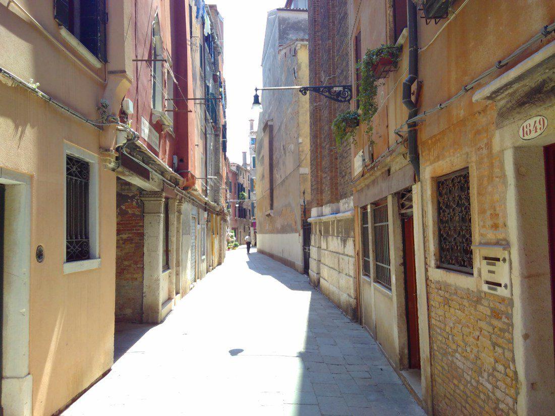 Venice - narrow street