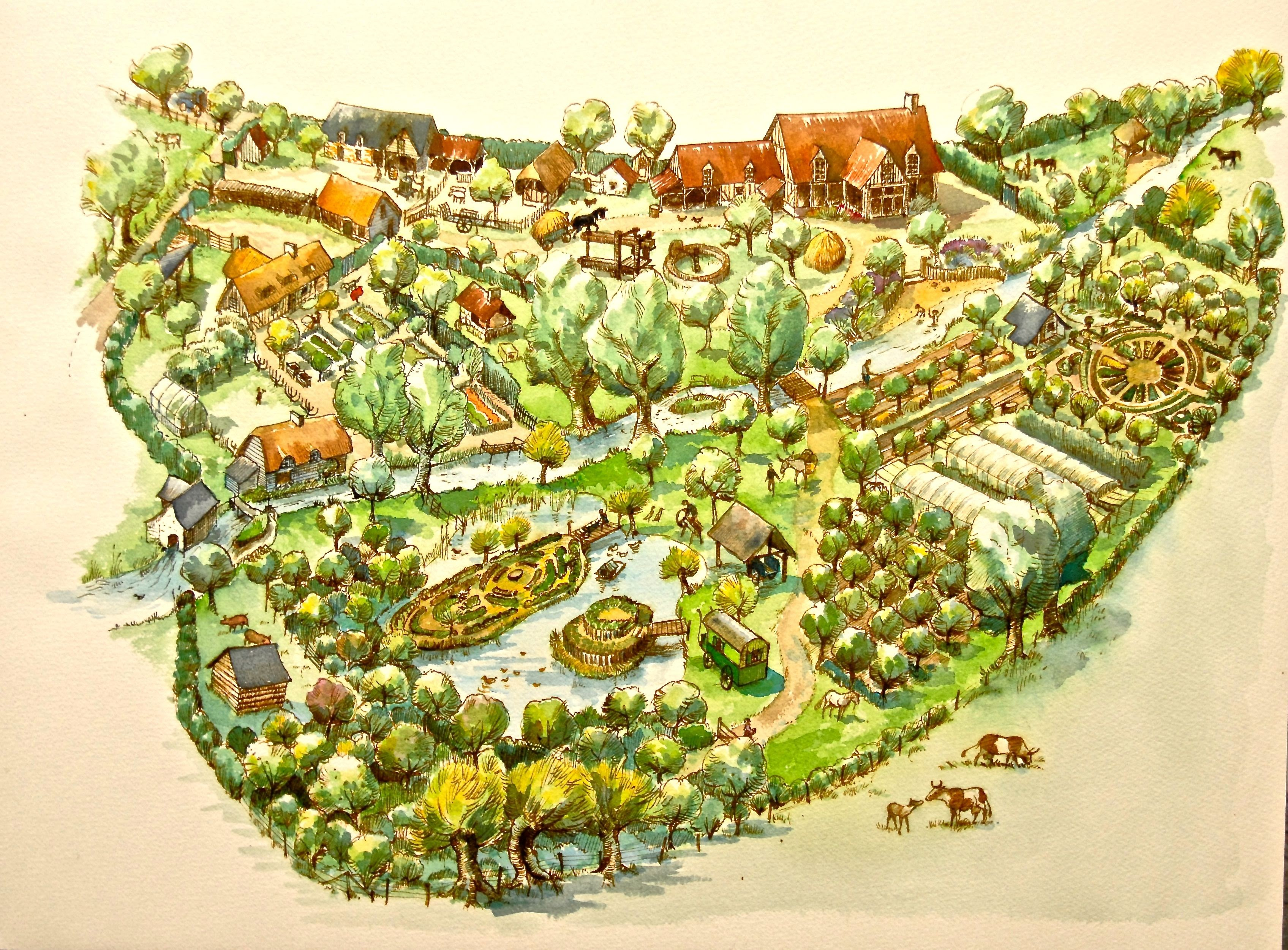 Start Small The Story Of Bec Hellouin Permaculture Farm