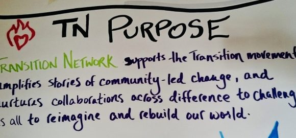 Transition Network – our new Purpose!