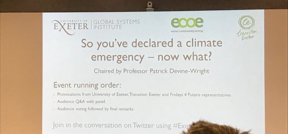 'So you've declared a Climate Emergency, now what?' event review