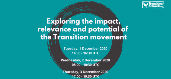 Webinars – Exploring the impact, relevance and potential of the Transition movement