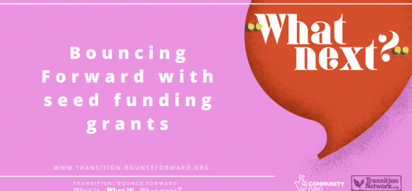 Bouncing Forward with seed funding grants in England