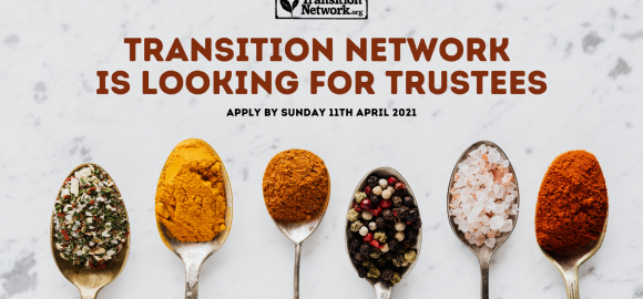 Transition Network is Looking for Trustees