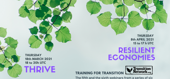 Training for Transition: Thrive & Resilient Economies