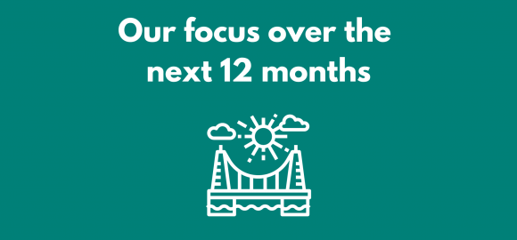 Our focus over the next 12 months