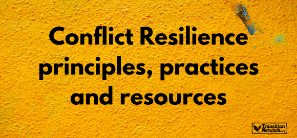 Conflict Resilience – Principles, Practices & Resources