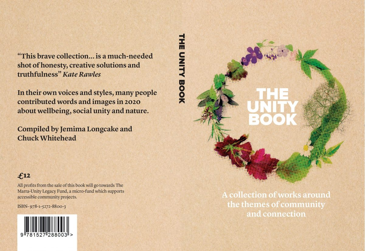 Front and back cover of The Unity Book